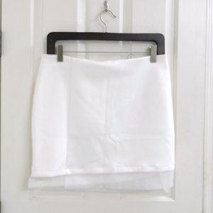 ASOS White Business Skirt